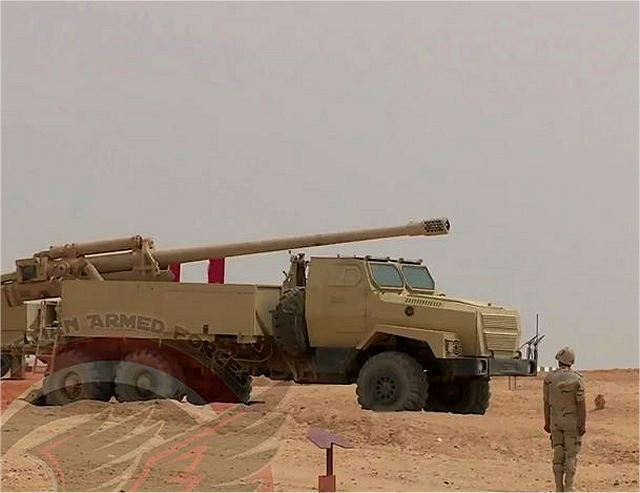 "According pictures released on the facebook account ""EgyptMilitary"", two new wheeled artillery systems entered service in the Egyptian army. Both are based on Russian-made Ural-4320 6x6 truck chassis with a towed artillery system mounted at the rear of the truck."