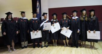 Graduate in two years! The 2014 MA's who began in August 2012