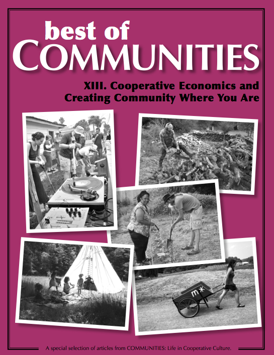 Cooperative Economics and Creating Community Where You Are