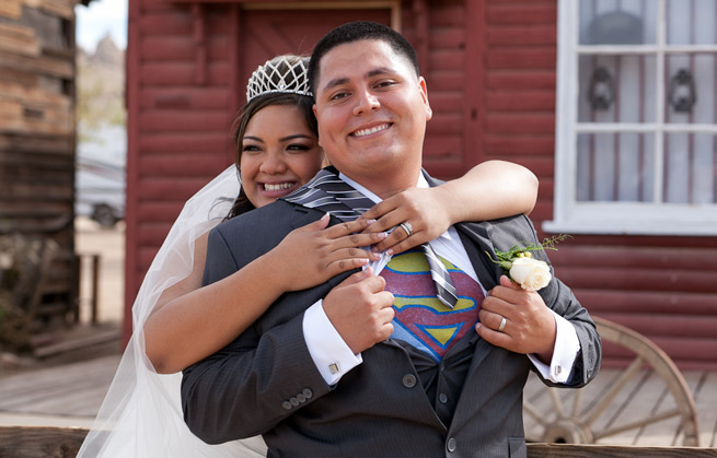 Jessica and her husband were married last October