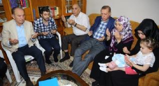 Cumhurbaşkanı Erdoğan'dan demokrasi şehitlerinin ailelerine ziyaret