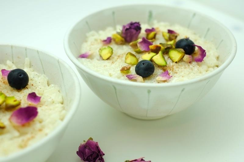 Bulgarian rice pudding