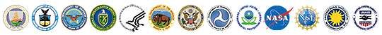 United States Global Change Research Program participating agency logos