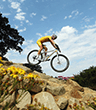 Mountain biking originated in California in the 1970s, when cyclists took old bikes out exploring the trails and tracks north of San Francisco