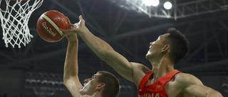 中国男篮60-94塞尔维亚