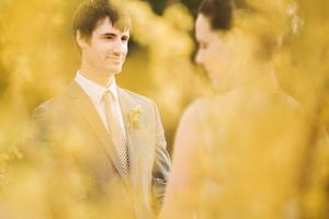 A spring wedding at the LBJ Wildflower Center in Austin, TX