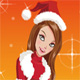 Christmas Fashion Girl Dress Up