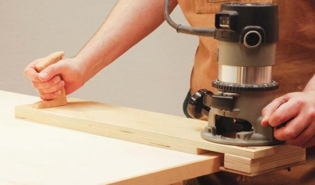 Flush Trim Router Jig