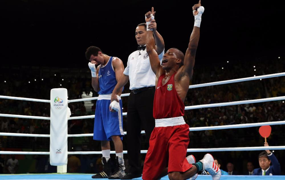 From the mean streets to the Olympic podium, boxer Robson Conceição becomes Brazil's new hero