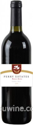 Perry Estate Reserve Shiraz 柏丽酒庄珍藏西拉
