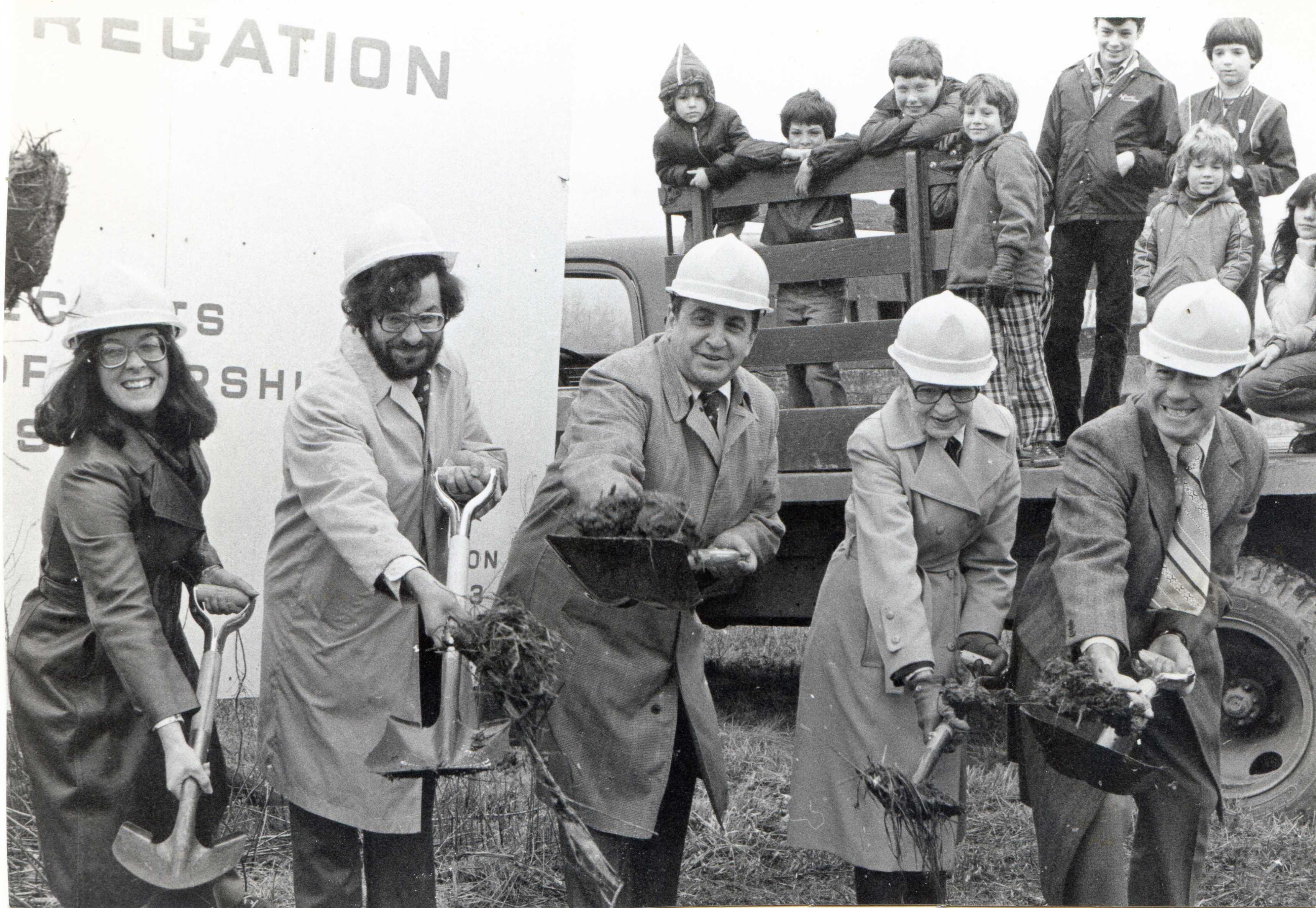 img001 Ground Breaking April 1978