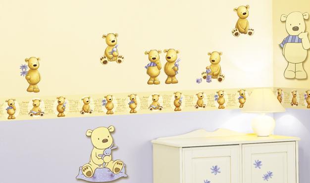 Dětská pokoj - medvedi