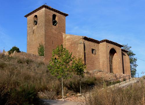 BEZARES (Valle del Najerilla). Iglesia de San Martín (sXV-XVI).
