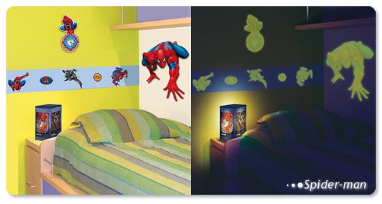 dětský pokoj - fosforeskující dekorace