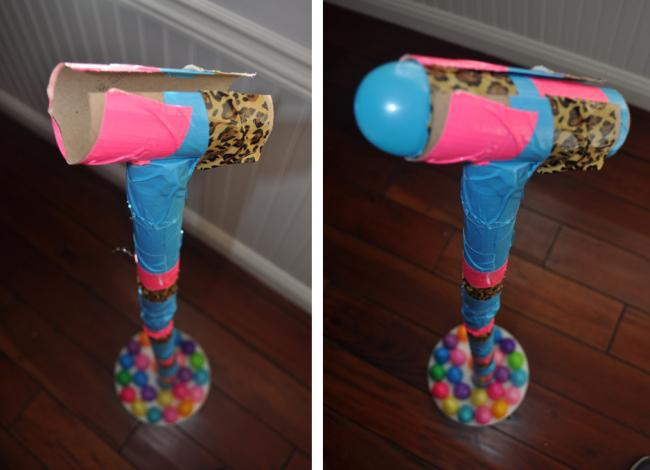 Easter Egg Recycle Rock Star Craft for Kids