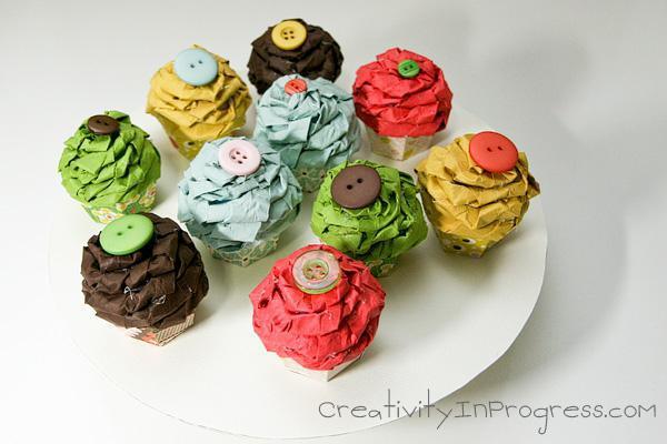 Easter Egg Cupcake Box for Kids