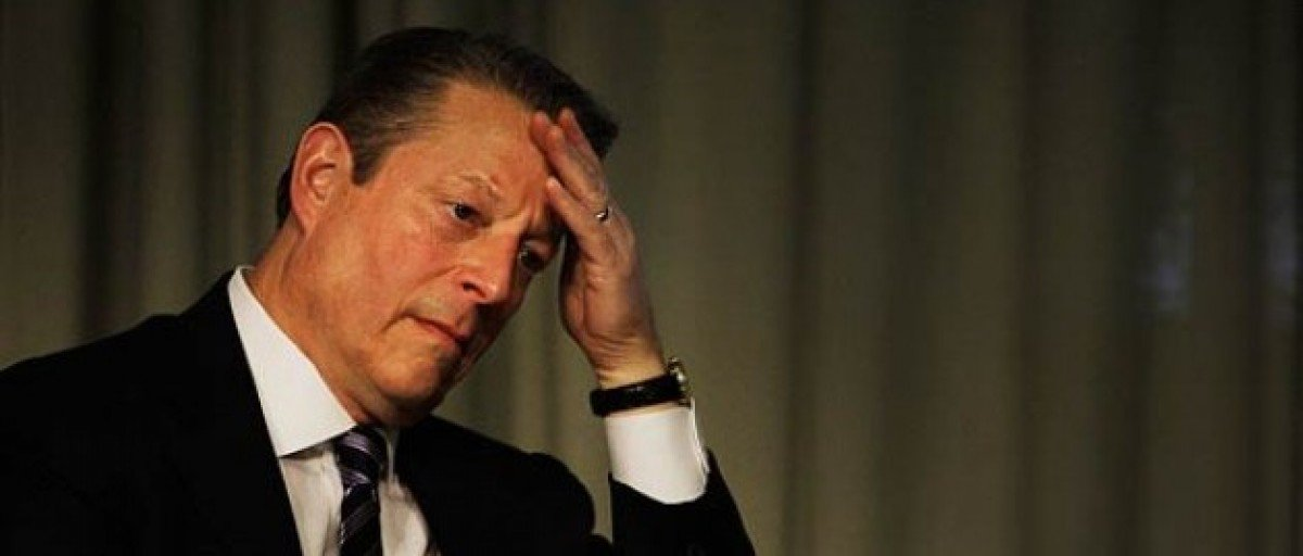 Al Gore: green house gases and sweat.