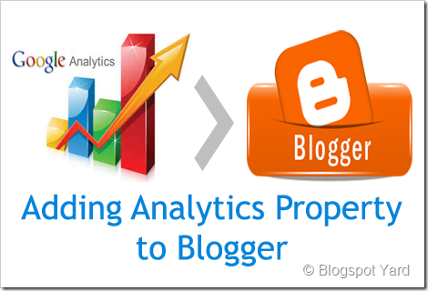 how to add google analytis to blogger