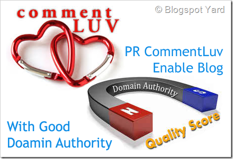 high pr commentluv blog with domain authority