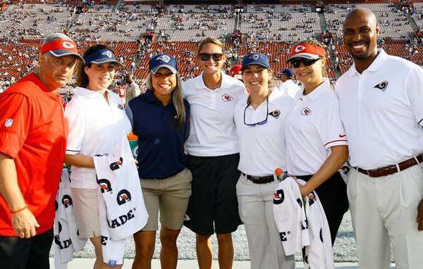 Rams First Female Full-Time Athletic Trainer Takes the Lead on Relocating
