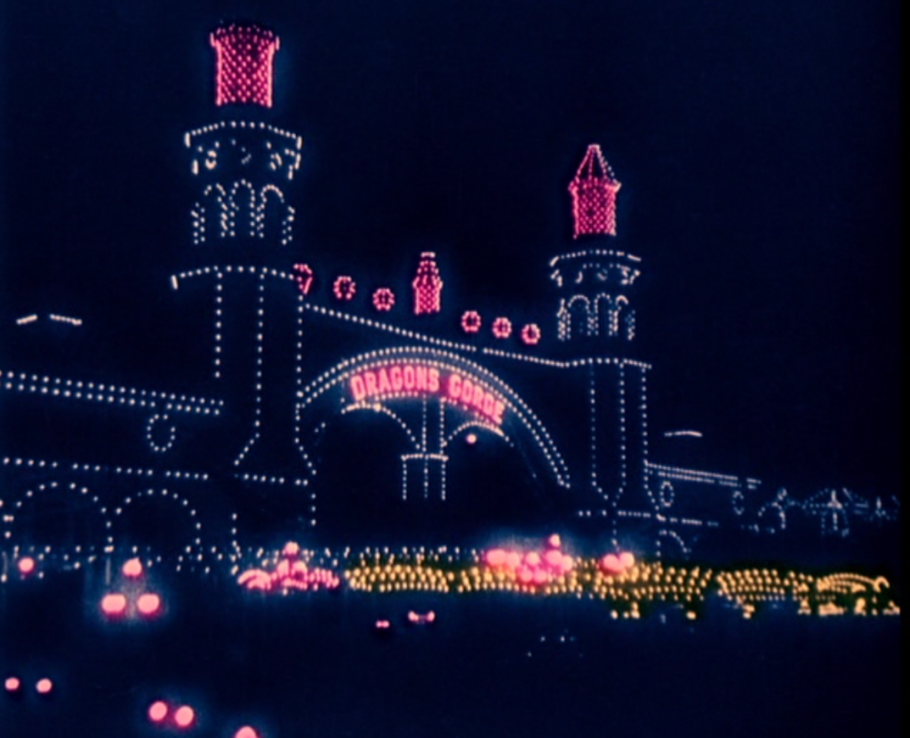 Establishing shot: Luna Park, which I have visited so often in fantasy. Freud, though, went to Dreamland, the other park at Coney?true story.