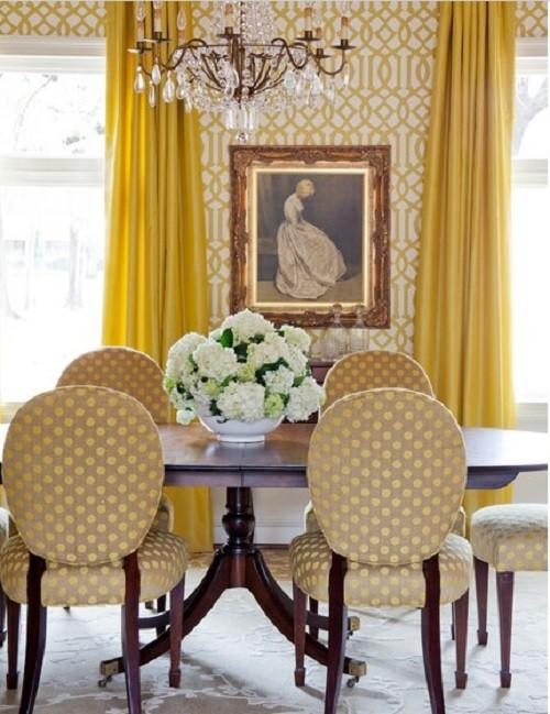 Traditional polca dot decor