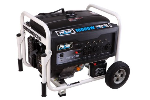 Pulsar PG10000 Gas Powered Generator, 10000-watt Output Review