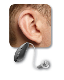 Receiver-In-The-Canal Hearing Aid
