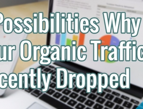 5 Possibilities Why Your Organic Traffic Recently Dropped