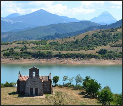 Ermita Virgen de Quintanilla - Embalse de Riaño