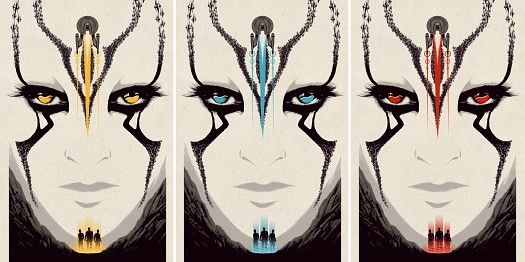 Amazing Star Trek Beyond Art Posters by Matt Ferguson