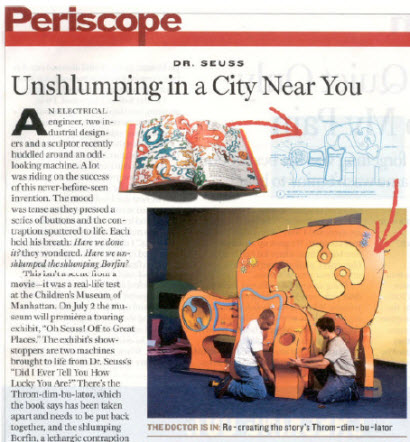 Dr. Seuss: Unshlumping in a City Near You