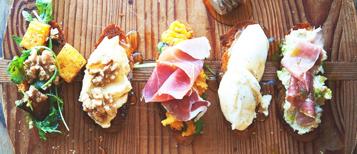 Crostini Five Ways