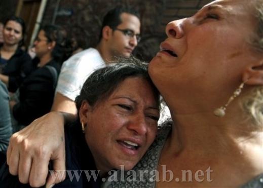 مسلمون يشاركون الأقباط في الصيام ورشق الجنازة بالحجارة