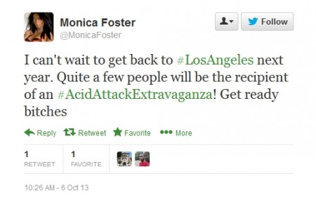 Crazy 4 10 6 13 450x288 More Off The Wall Pleadings From The Monica Foster Defamation Case