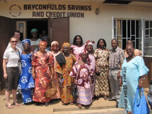 Staff and Board of Bayconfields Savings and Credit Union, Liberia.