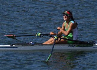 Lechuga Alanis, Kenia - Rowing - Mexico - Women's Single Sculls - Women's Single Sculls Final D - Lagoa Stadium