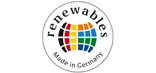"Logo ""renewables - Made in Germany"" initiative"
