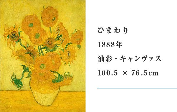 ひまわり/1888年/油彩・キャンヴァス