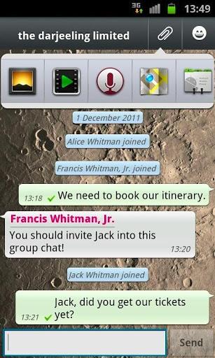 WhatsApp Messenger v2.7.6230