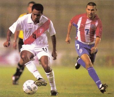 El único amistoso de la selección peruana en el Monumental, hasta ahora, había sido este contra Paraguay en abril de 2003 (Foto: Don Balón Perú)