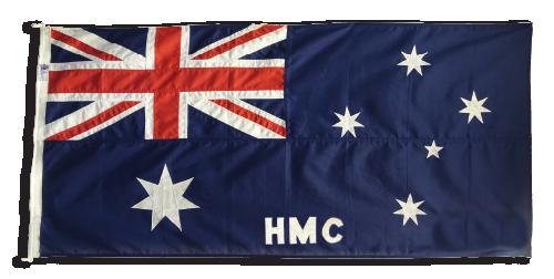 Australian Customs Flag c1904 to 1988