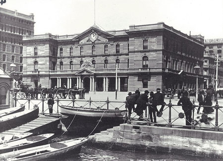 Sydney Customs House, pre Federation