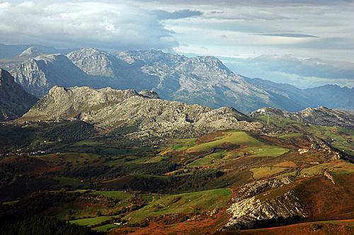 Sierra del Hornijo desde Armañon