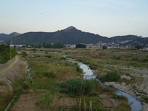Riu Ripoll al seu pas per Ripollet