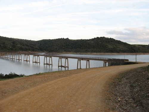 Puente del Castillo de Alba a Muga de Alba
