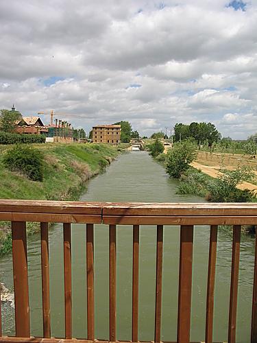 Palencia - Grijota - Canal de Castilla