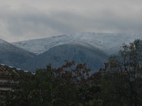 Sierra de Iznalloz, primeras nieves del 2006