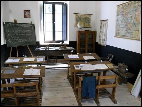 Museo de la Escuela, Viñon, Cabranes.