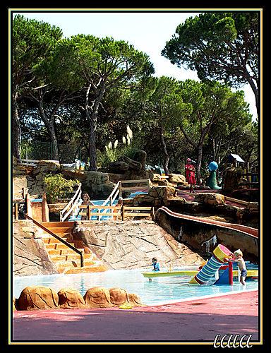 Spanyolország - MARINELAND delfinárium, csúszdapark - Palafolls Marineland -Spain- 2006 Sep